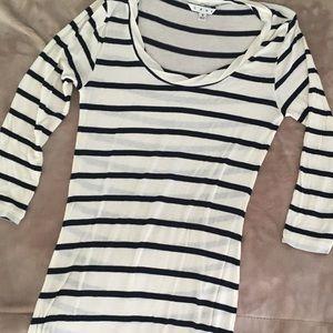 Vintage CAbi striped tunic